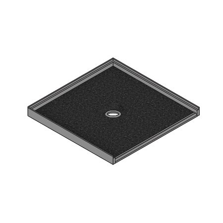 Meridian Solid Surface ELITE Shower Threshold – Integral Accessible