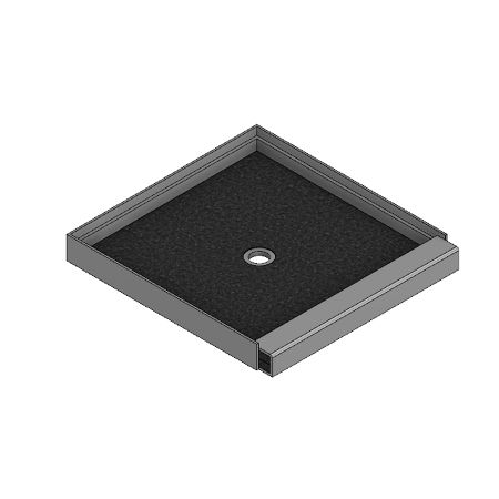 Meridian Solid Surface BASIC Shower Threshold – Independent Raised
