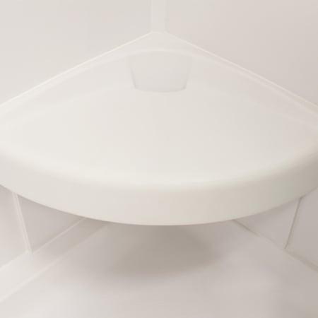 Meridian Solid Surface Corner Shower Seat