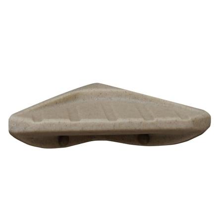 Meridian Solid Surface Shower Corner Soap Dish