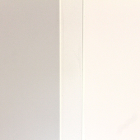 Meridian Solid Surface Shower Inside Corner Molding – Chamfered