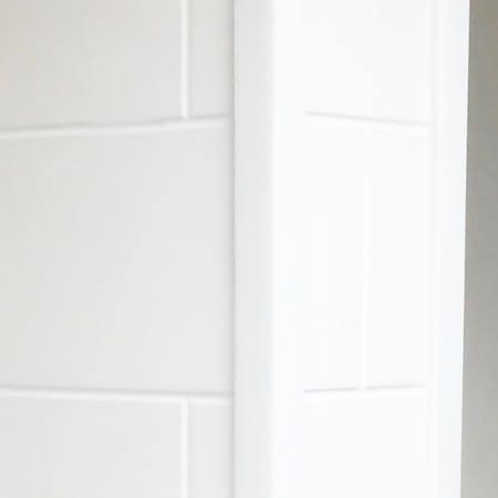 Meridian Solid Surface Shower Outside Corner Molding