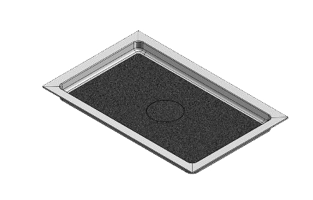 feature picture of 67 x 43 Universal Variable Center Drain Shower Base